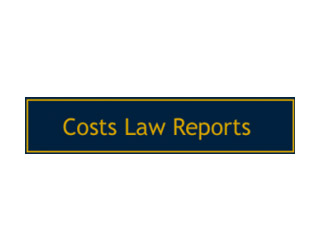 Costs Law Reports