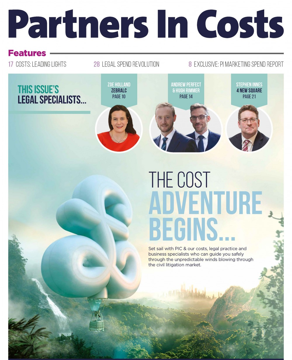 Partners in Costs, Autumn / Winter 2017 issue out now!