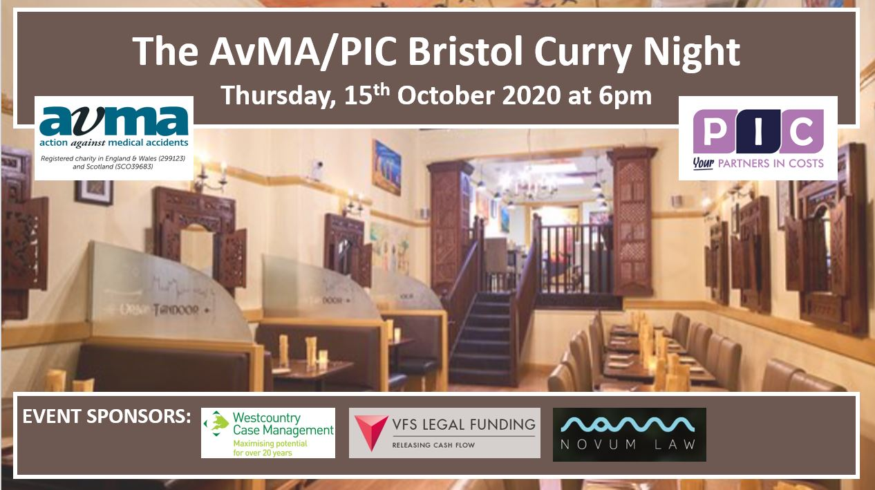 The Bristol Curry Night – 15 October 2020