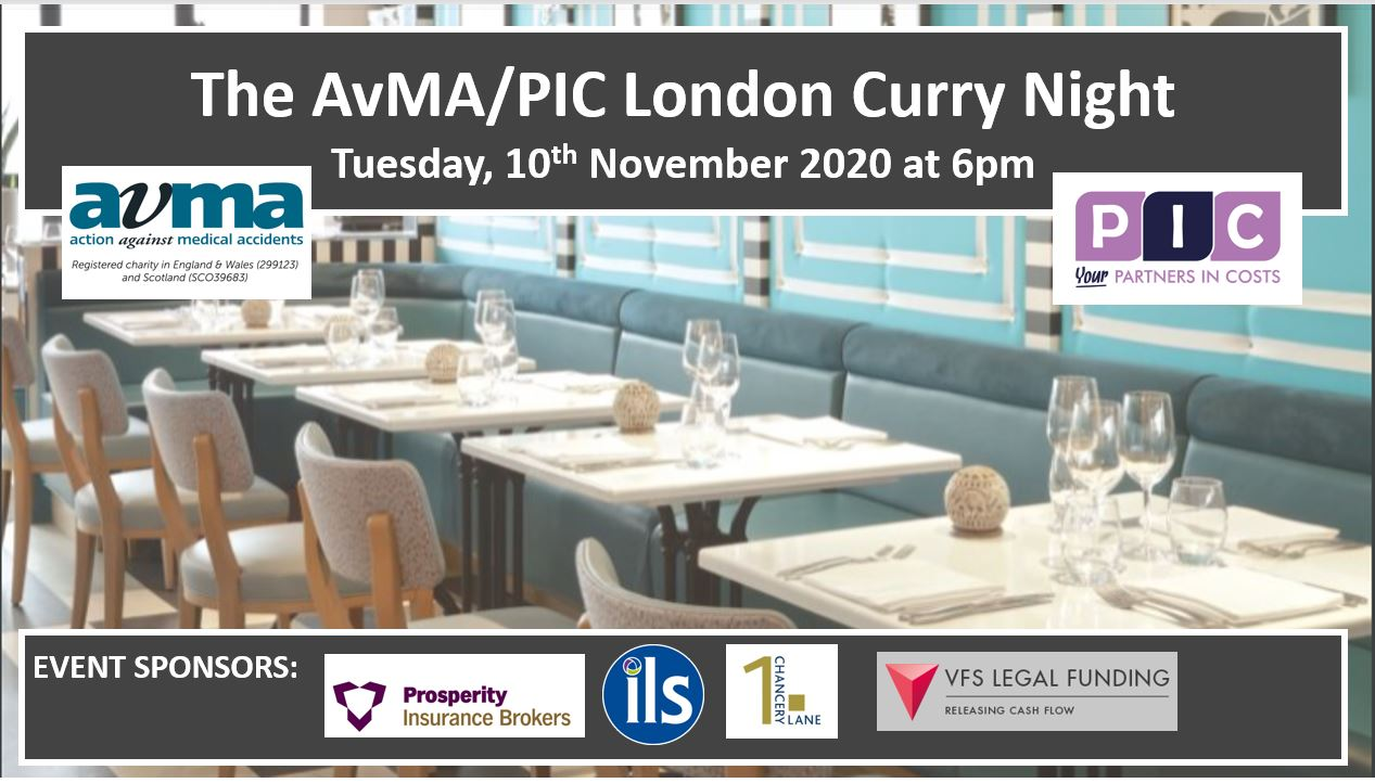 The London Curry Night – 10 November 2020
