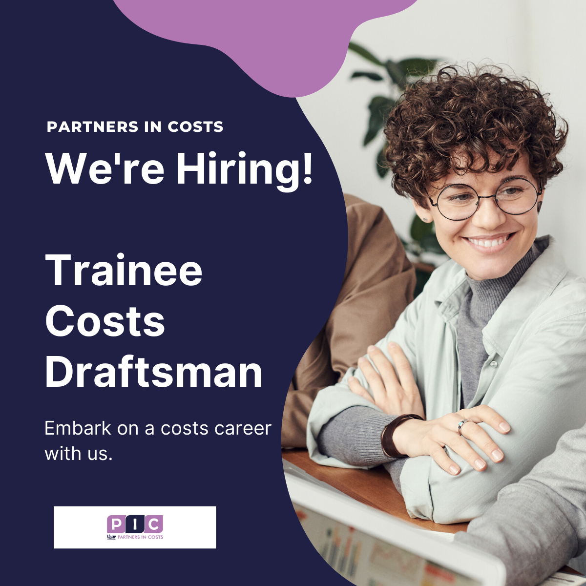 Partners in Costs are recruiting a Trainee Costs Draftsman.