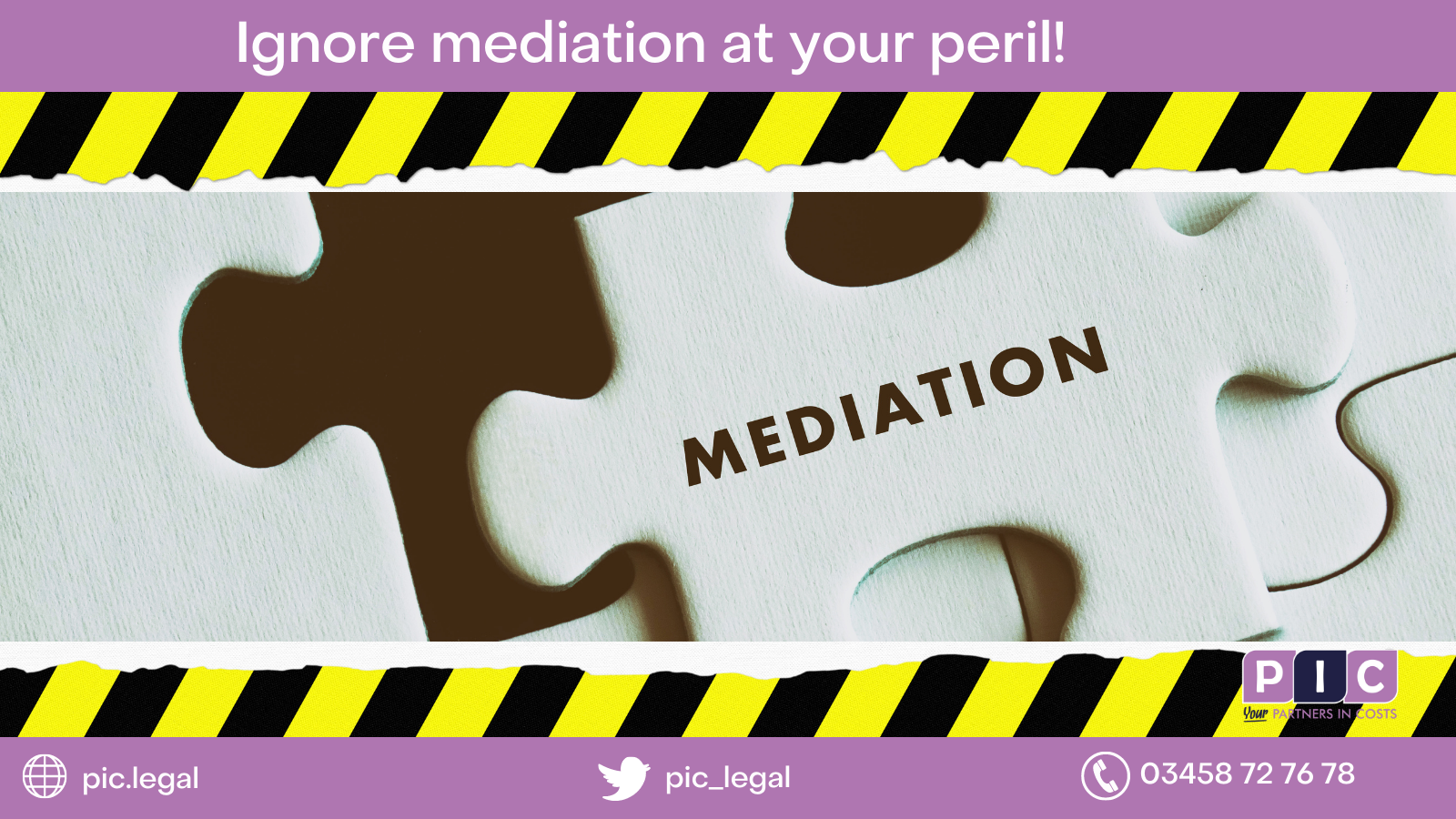 Ignore mediation at your peril!