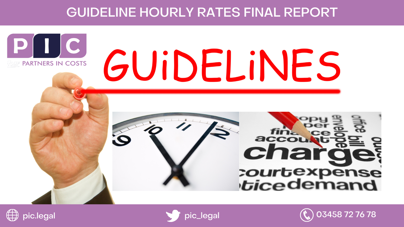 Colin Campbell reviews the final report into Guideline Hourly Rates