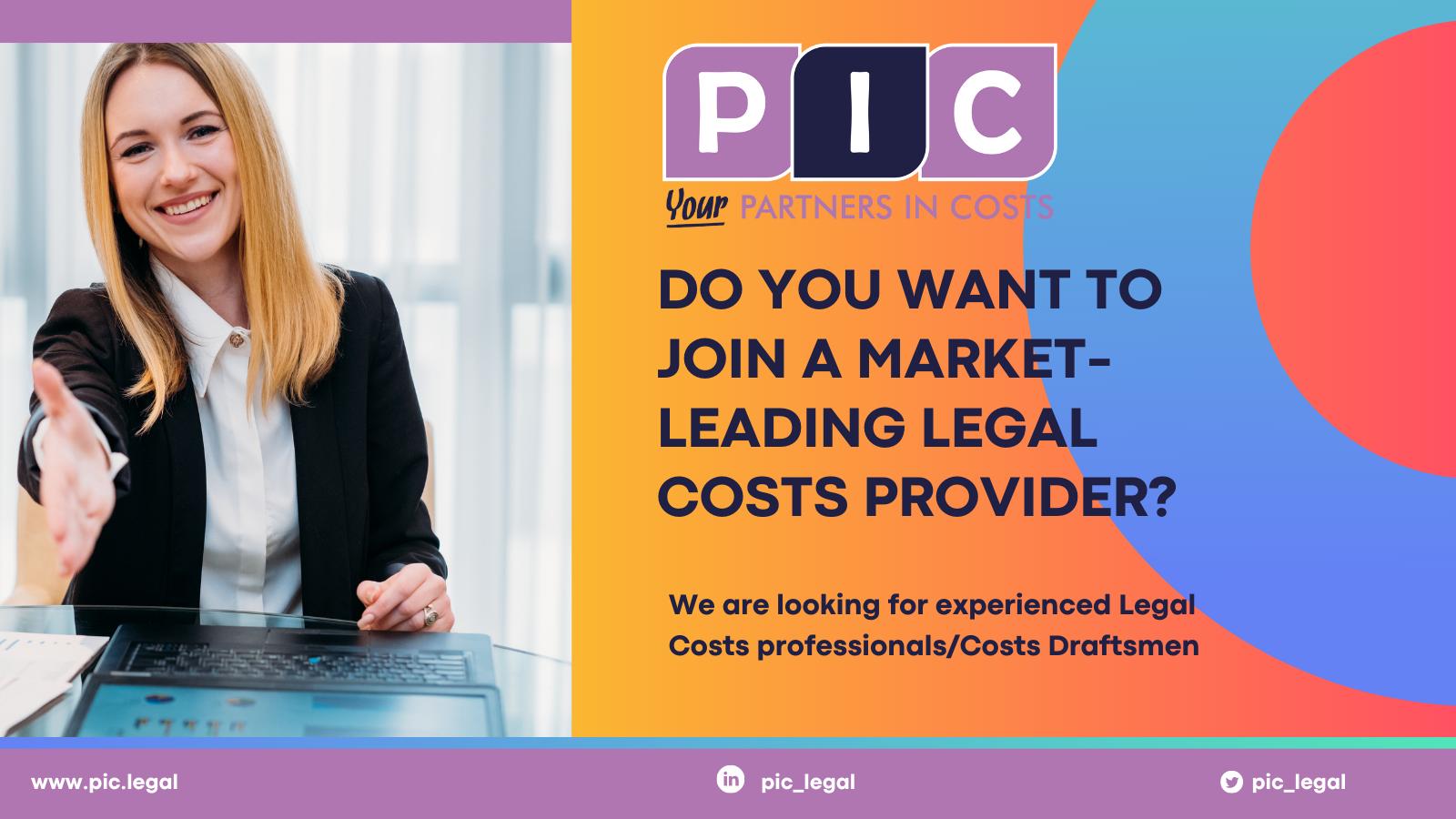 Legal Costs Professionals / Costs Draftsmen Vacancies